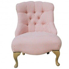 Kent Chair in Gingham fabric